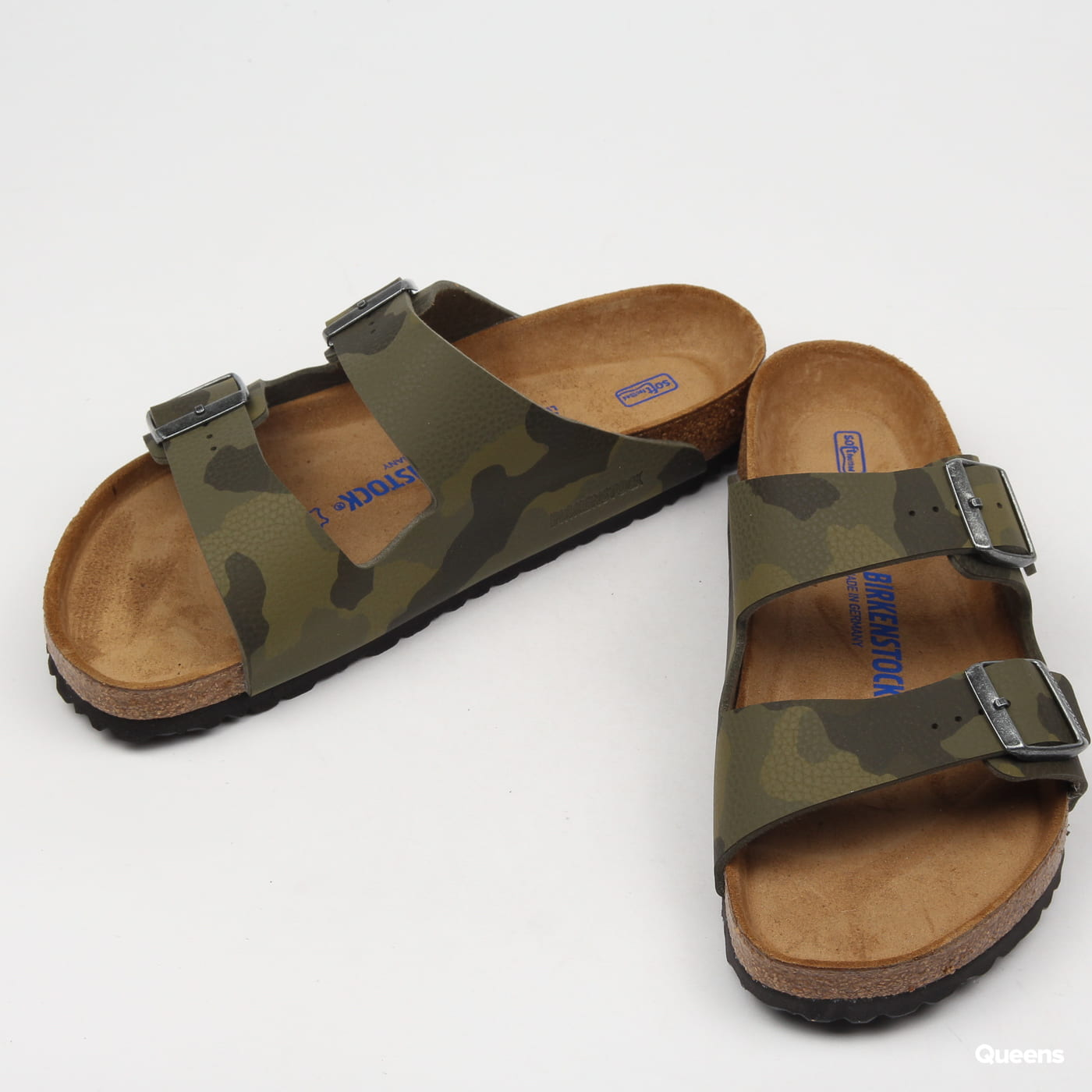 BIRKENSTOCK Arizona BS desert soil camouflage green