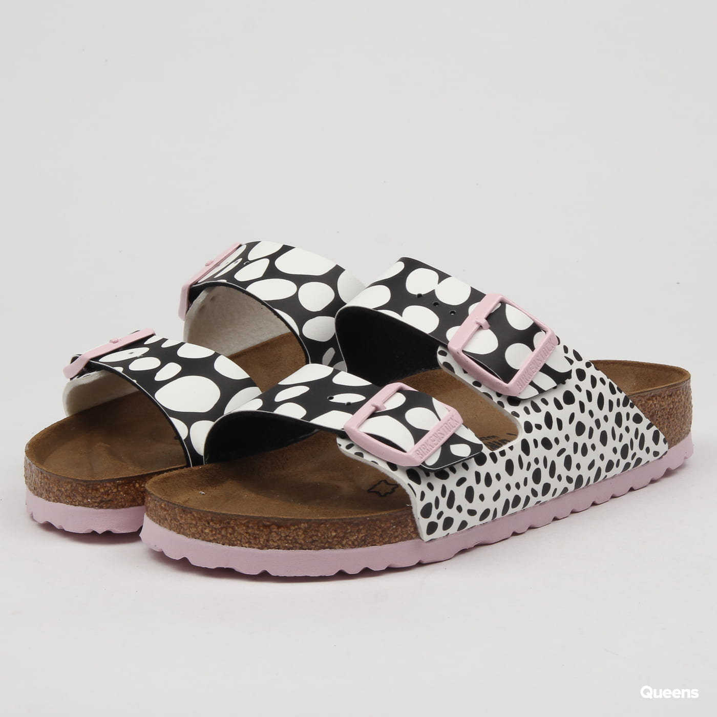 BIRKENSTOCK Arizona BS two - tone dots black / white