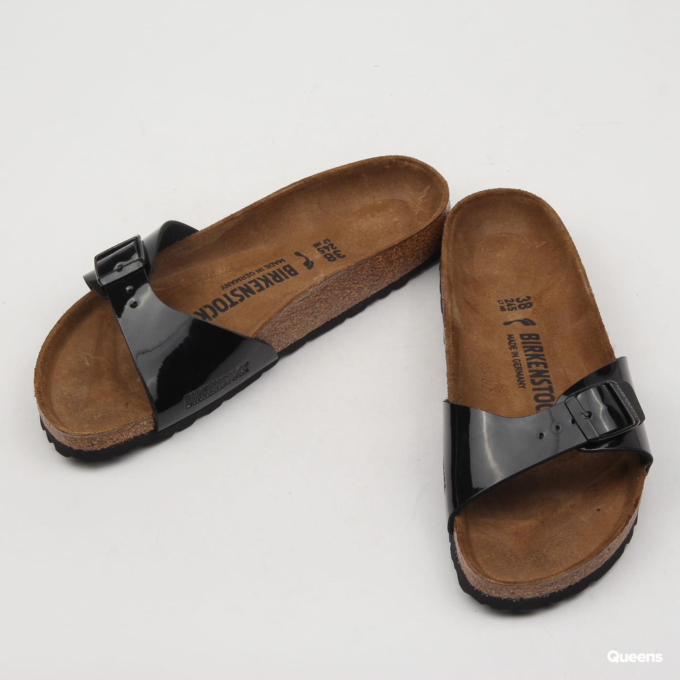 BIRKENSTOCK Madrid BS black patent