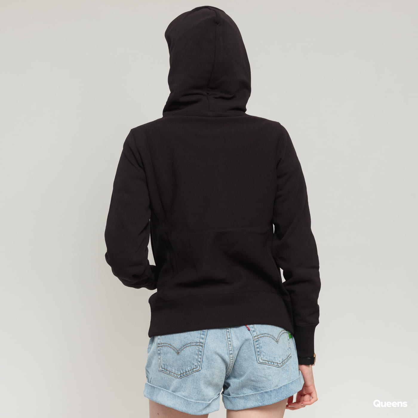 Champion Hooded Sweatshirt schwarz