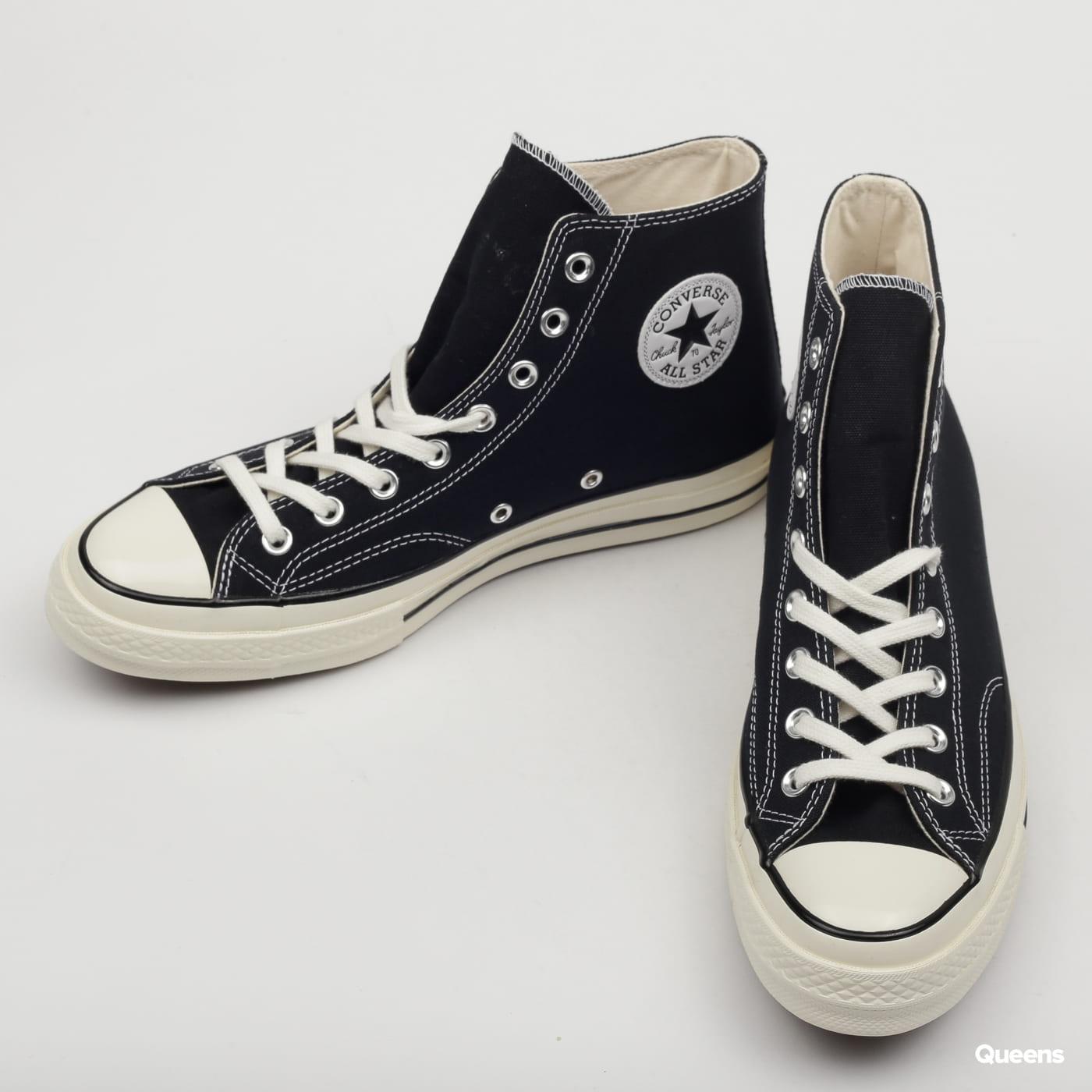 Converse Chuck 70 Hi black / black / egret