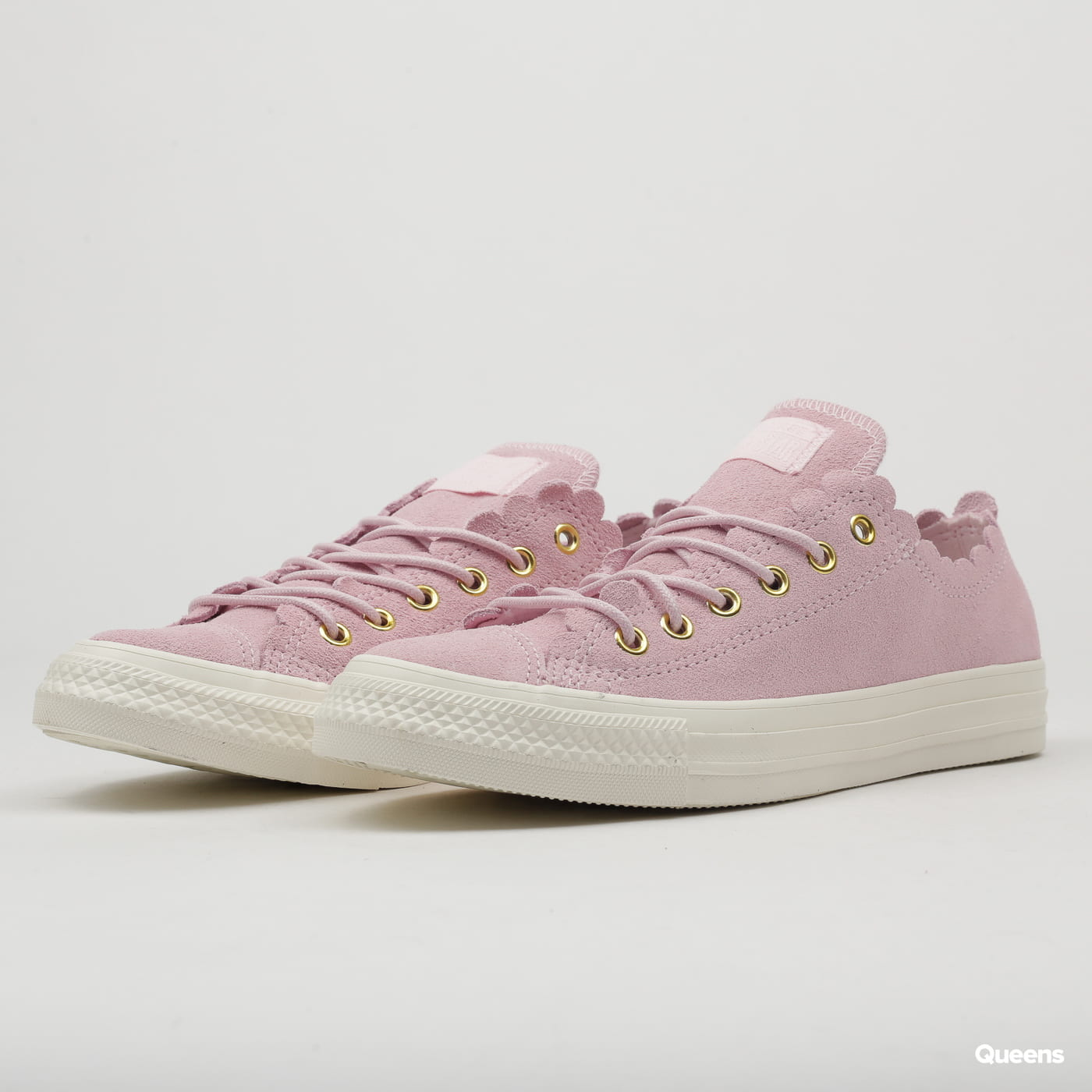 521cbbf7aaa Converse Chuck Taylor All Star OX pink foam / gold / egret (C563416) –  Queens 💚