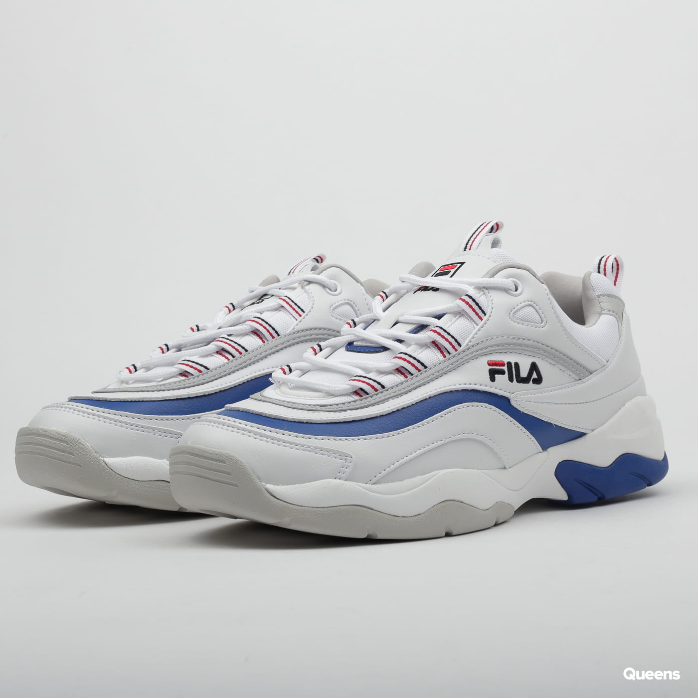 Fila Ray F Low white / electric blue / gray violet