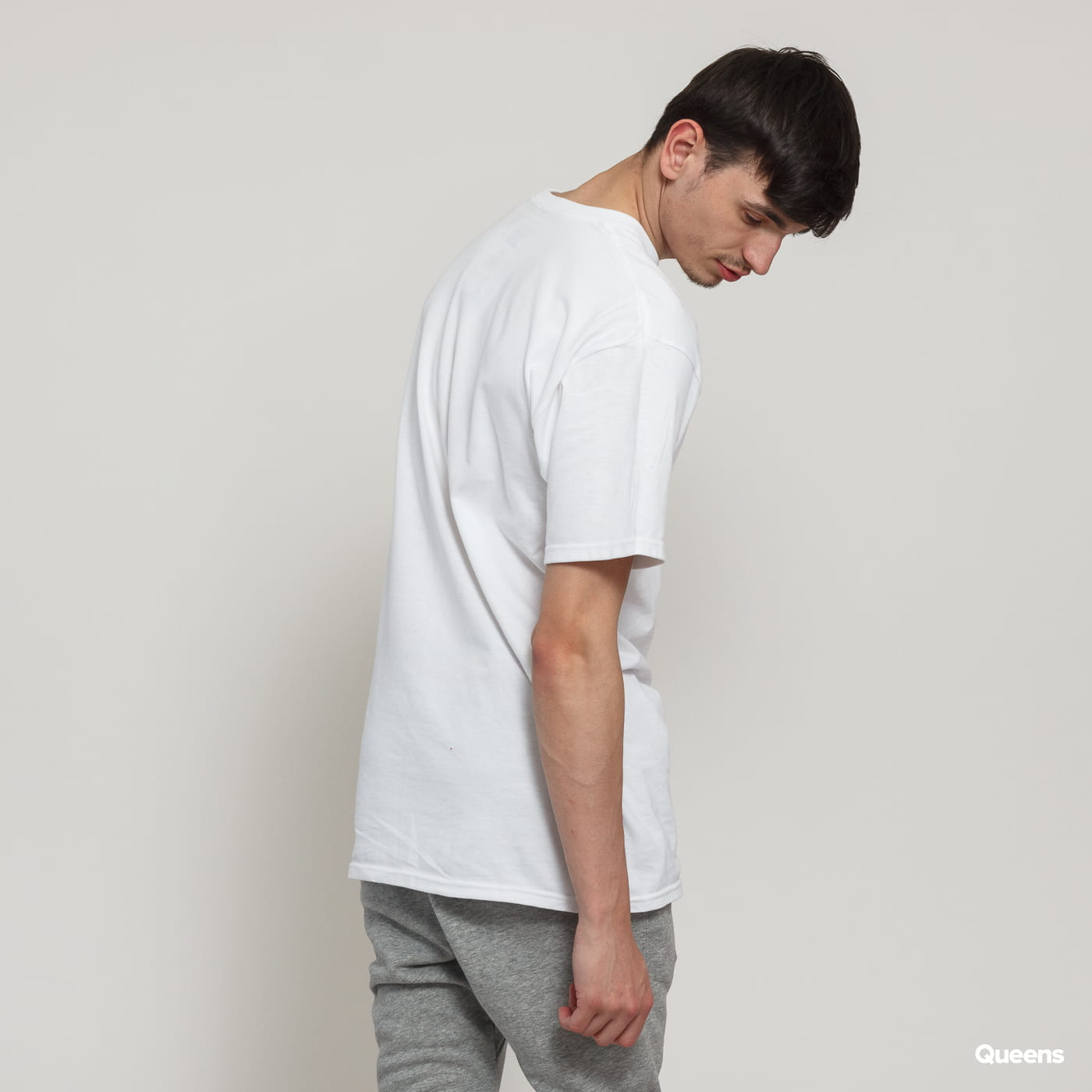 HUF Essentials Box Logo Tee weiß
