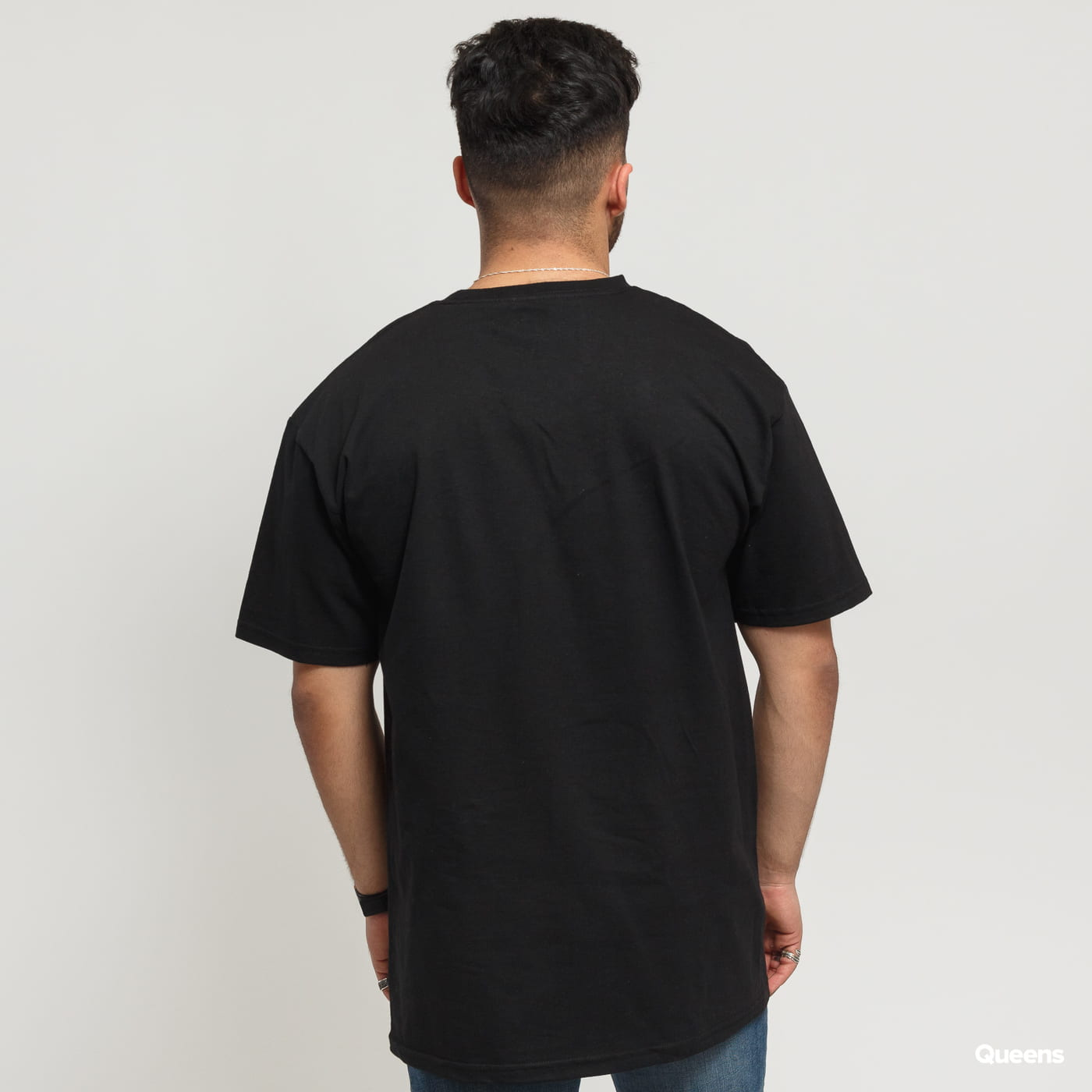 HUF Essentials Box Logo Tee black