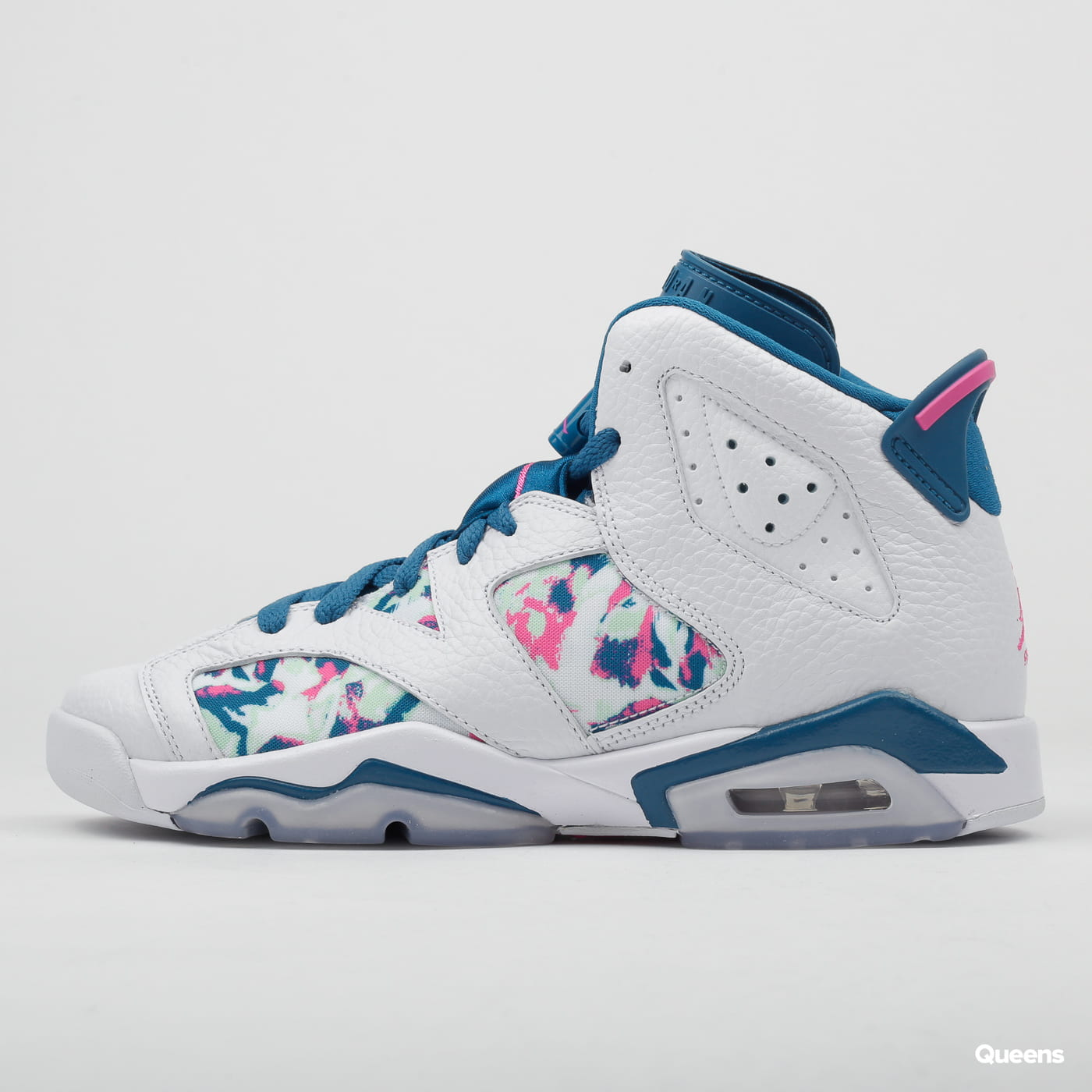 the best attitude 8819c 95571 Jordan Air Jordan 6 Retro (GS) white / laser fuchsia