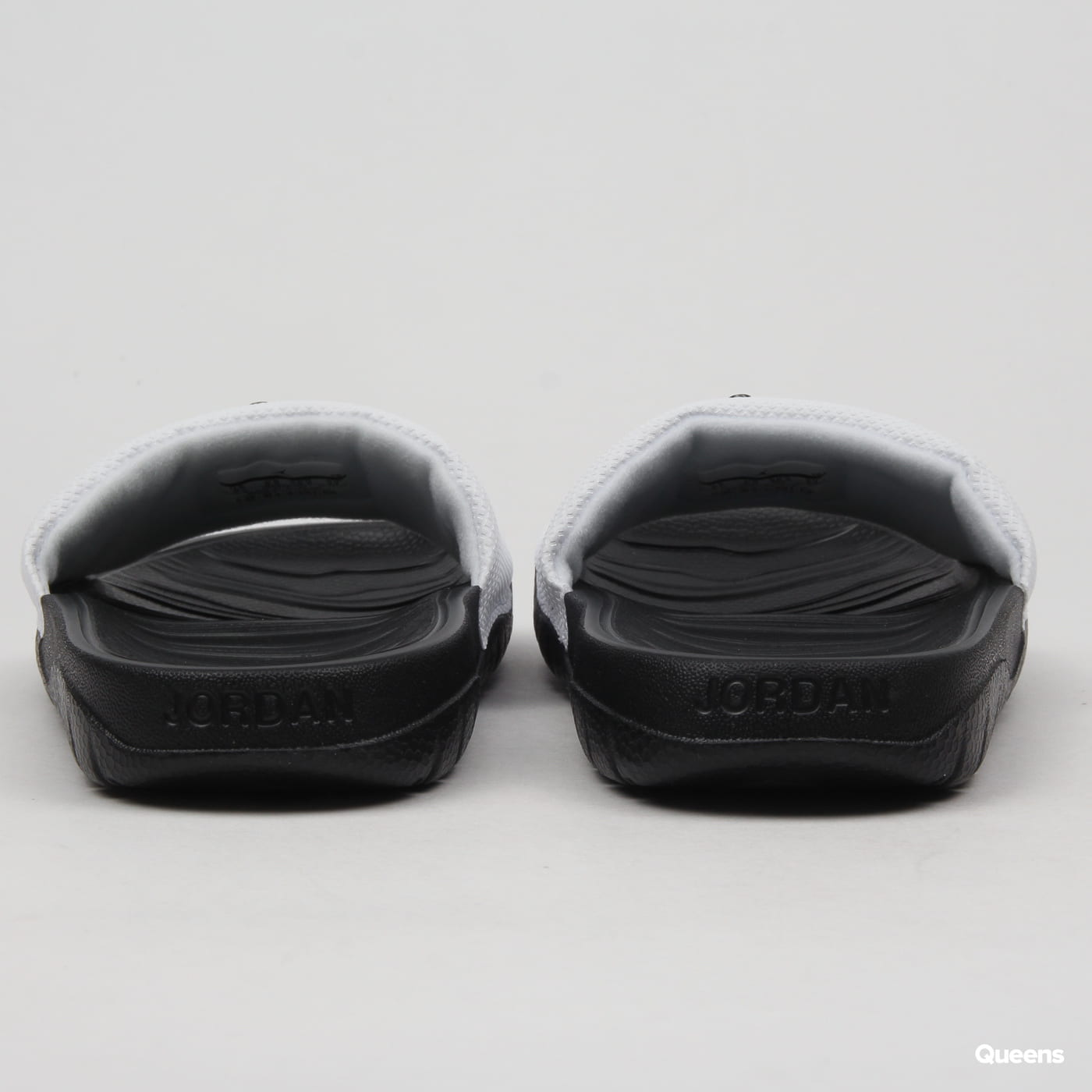 Jordan Break Slide (GS) white / black - black
