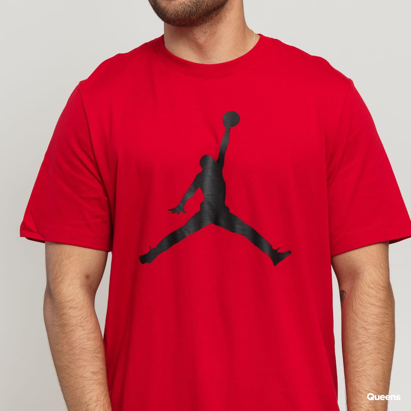 Jordan M J Jumpman SS Crew red