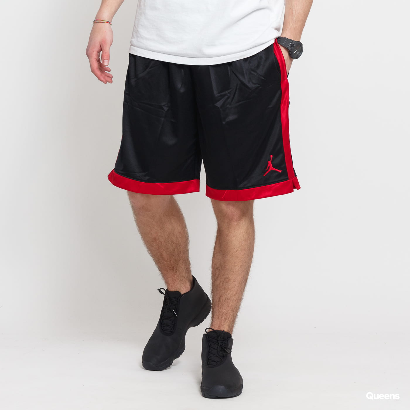 5fdb99e8b39 Basketball Shorts Jordan M Jumpman Shimmer Short black (AJ1122-010) –  Queens 💚