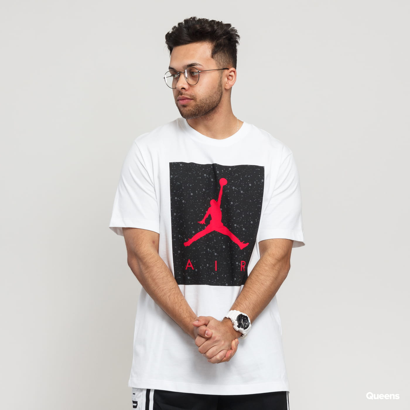 27f2429e000e60 Short Sleeve T-Shirts Jordan Poolside SS CTN Crew white (CD0542-100) –  Queens 💚