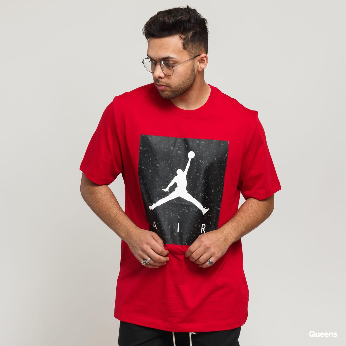 046d97aa6ff6f4 Short Sleeve T-Shirts Jordan Poolside SS CTN Crew red (CD0542-687) – Queens  💚