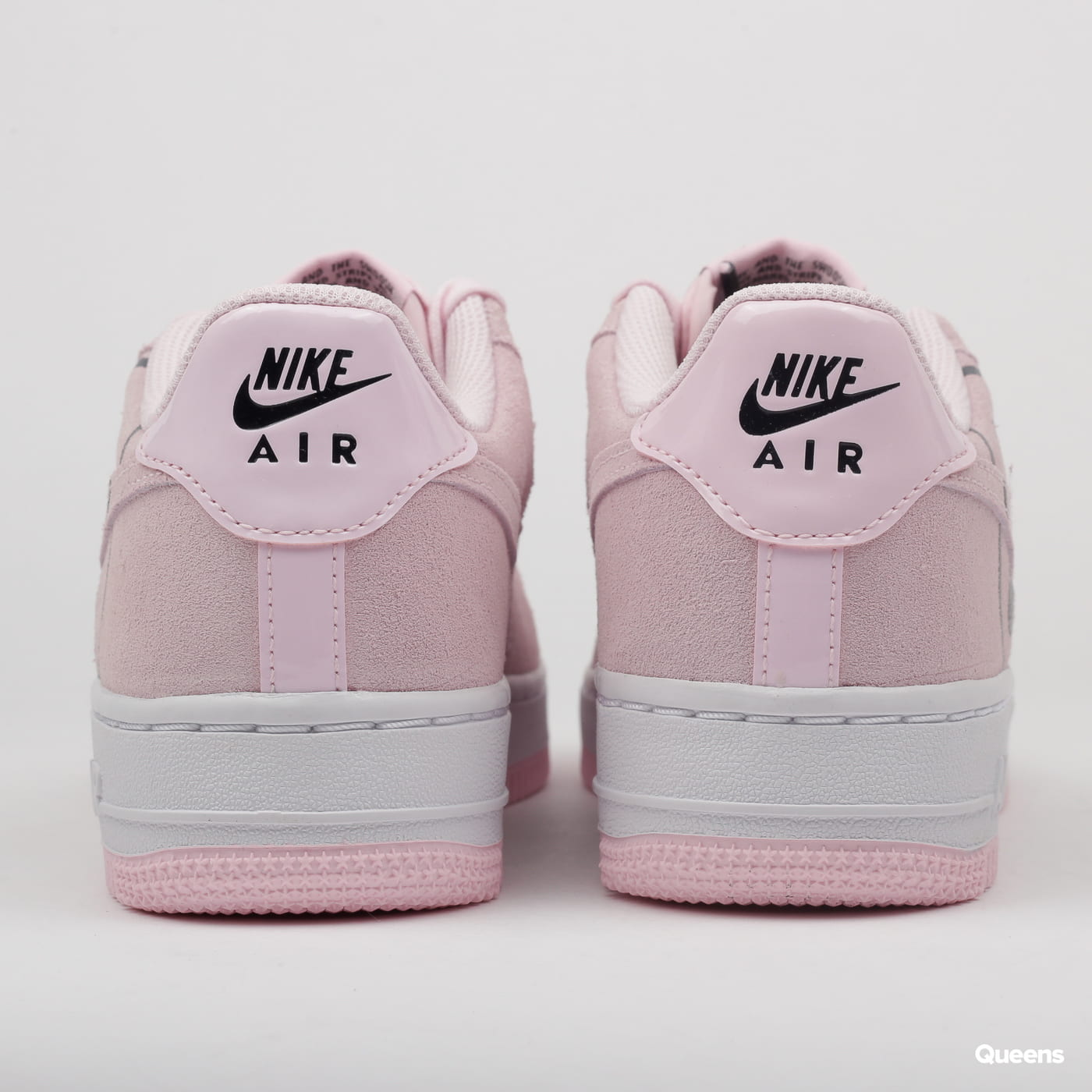Nike Air Force 1 LV8 2 (GS) pink foam / pink foam - black