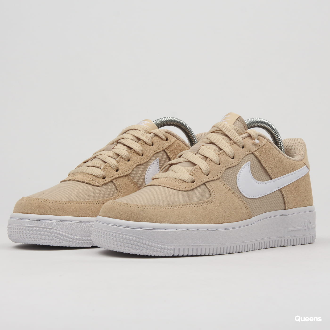 Nike Air Force 1 PE (GS) desert ore white