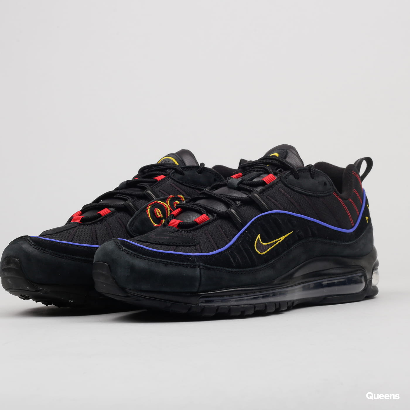 new arrival e5a13 c8e14 Nike Air Max 98 black / black - amarillo