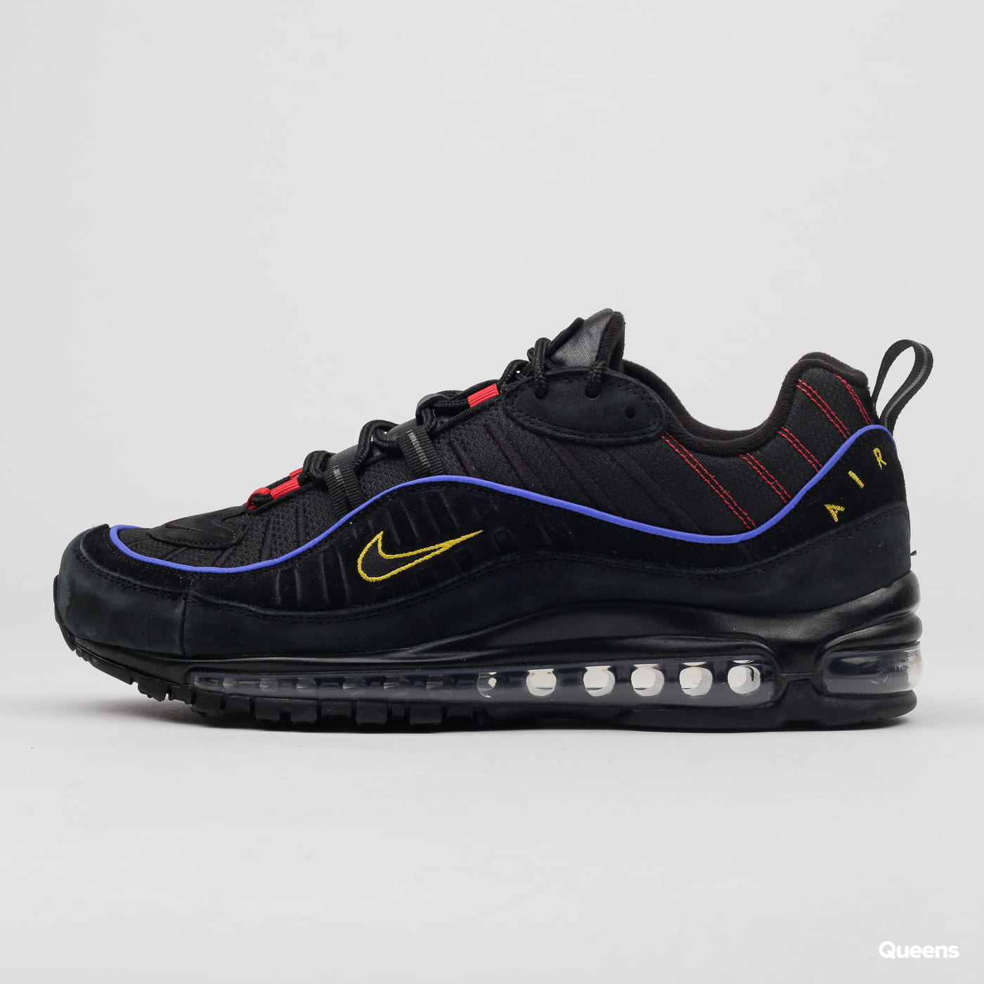 Nike Air Max 98 black / black - amarillo