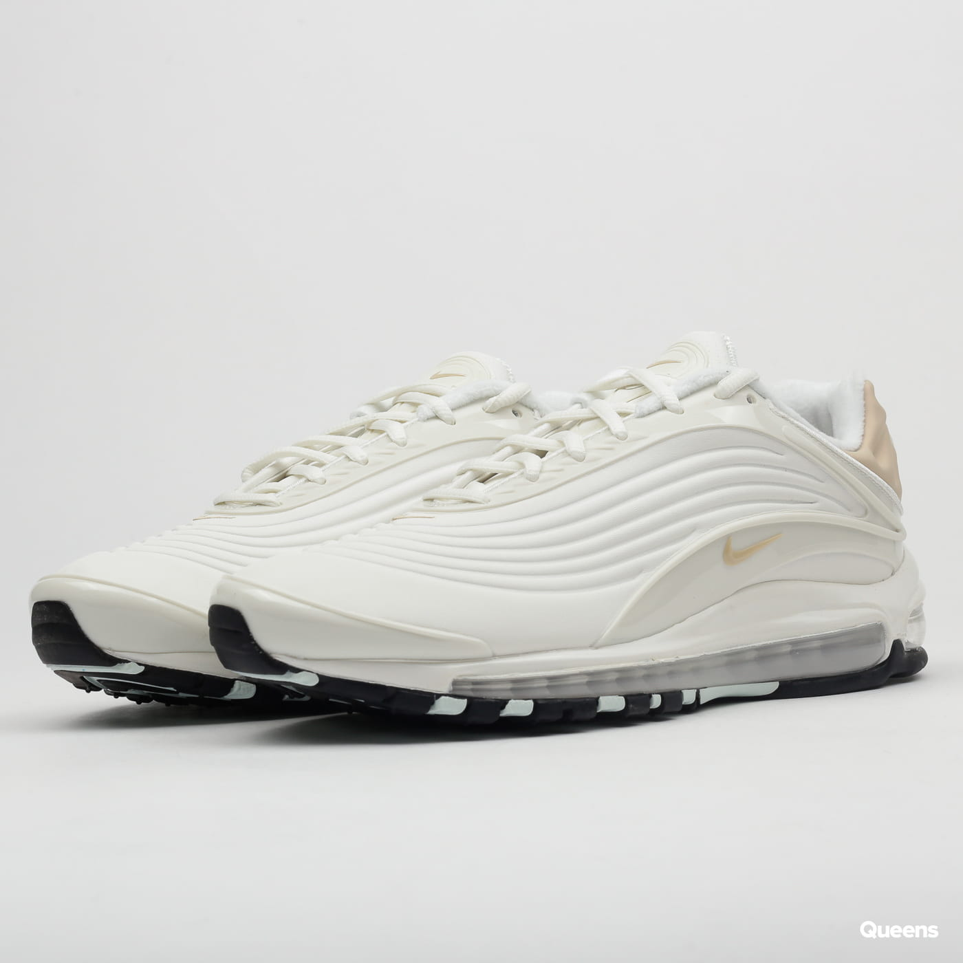 Nike Air Max Deluxe SE sail / desert ore - teal tint