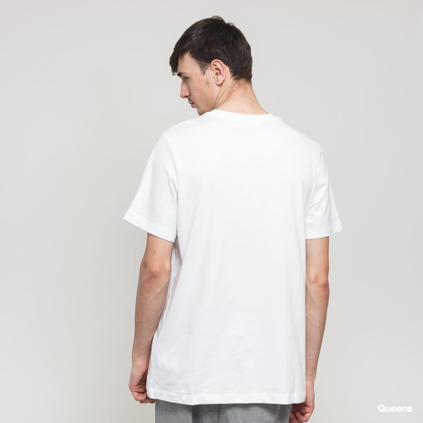Nike M NSW Tee Swoosh BMPR STKR white