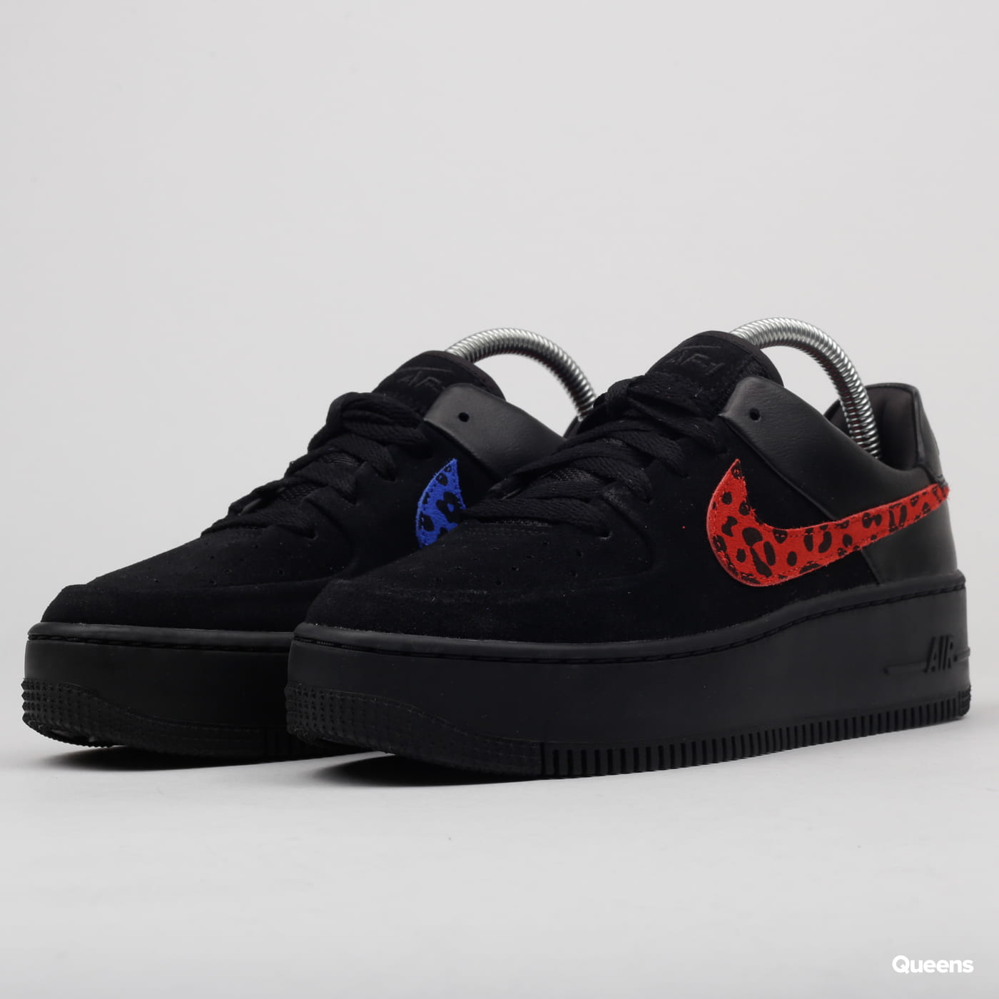 reputable site 1a2e2 9b468 Nike W Air Force 1 Sage Lo Premium black / habanero red - racer blue