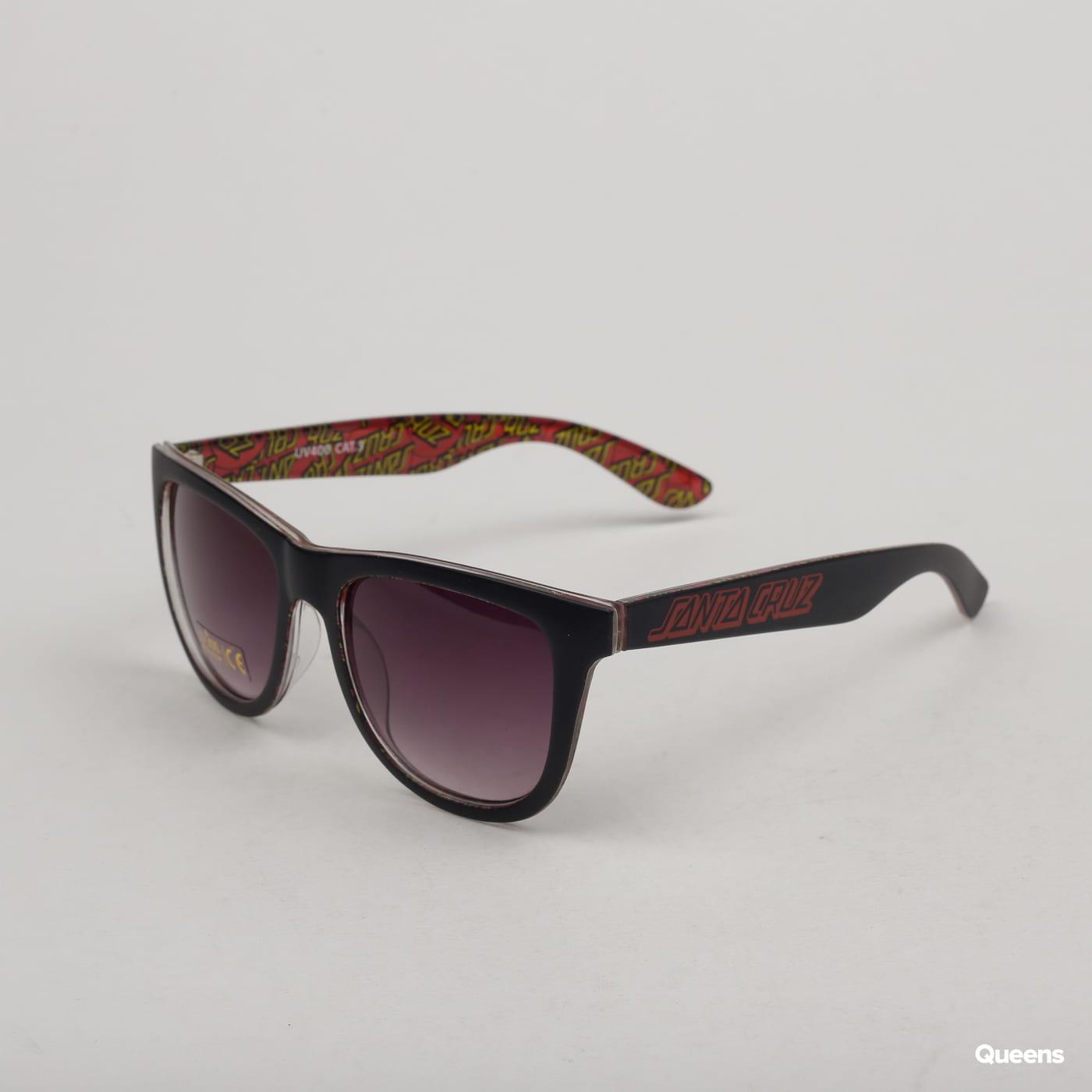 Santa Cruz Multi Classic Dot Sunglasses black / multicolor