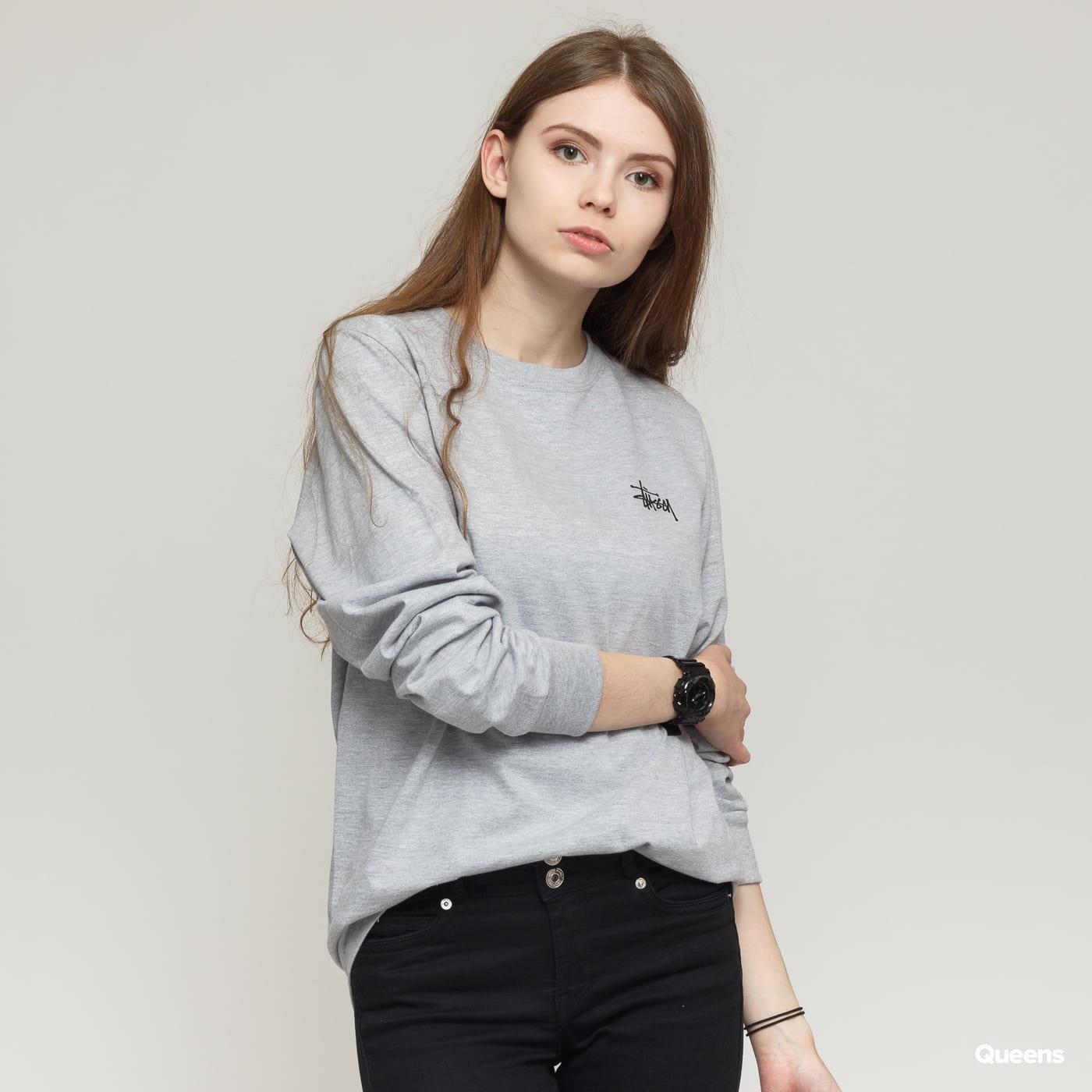 43316407ea6c Dámske tričko s dlhým rukávom Stüssy Basic Stussy LS Tee (2992600   0009)–  Queens 💚
