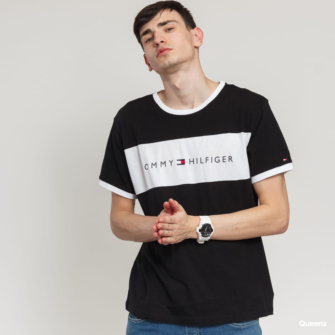 f78dce05 Short Sleeve T-Shirts Tommy Hilfiger CN SS Tee Logo Flag (UM0UM01170 990)–  Queens 💚