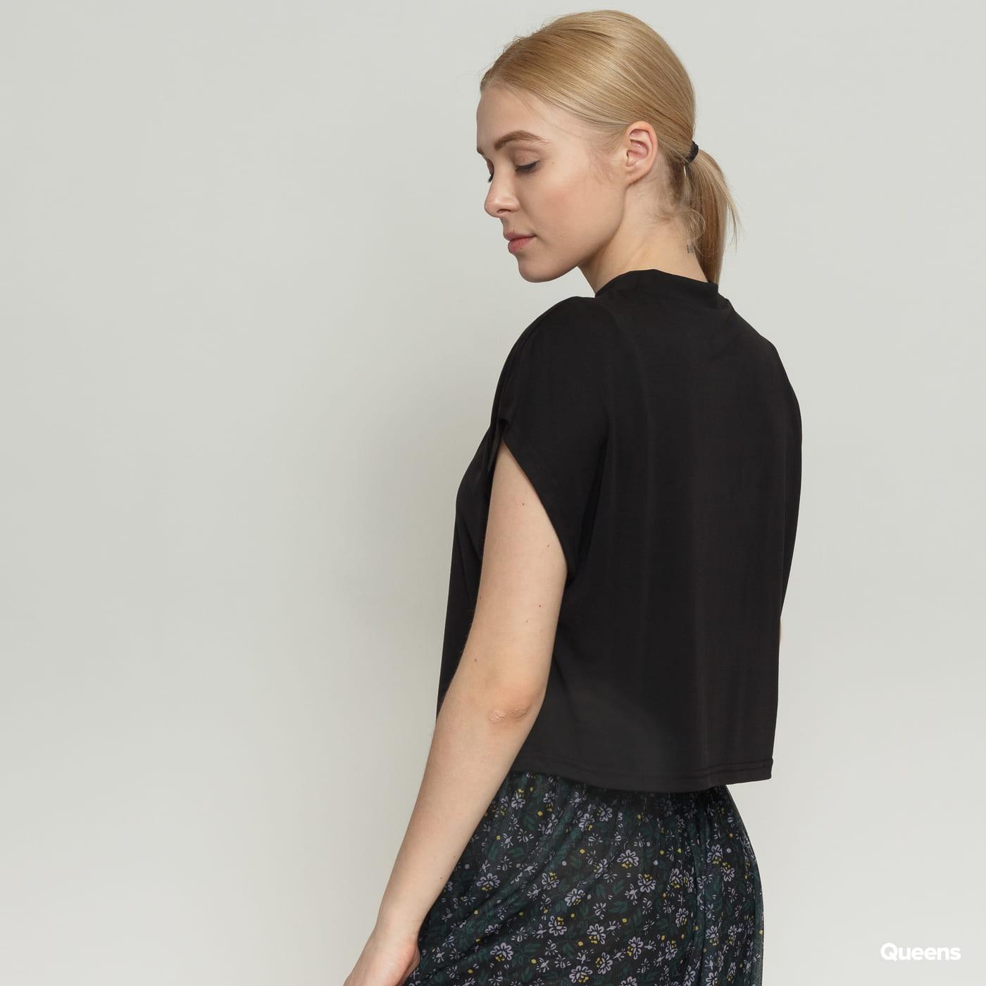 Urban Classics Ladies Modal Short Tee black satin