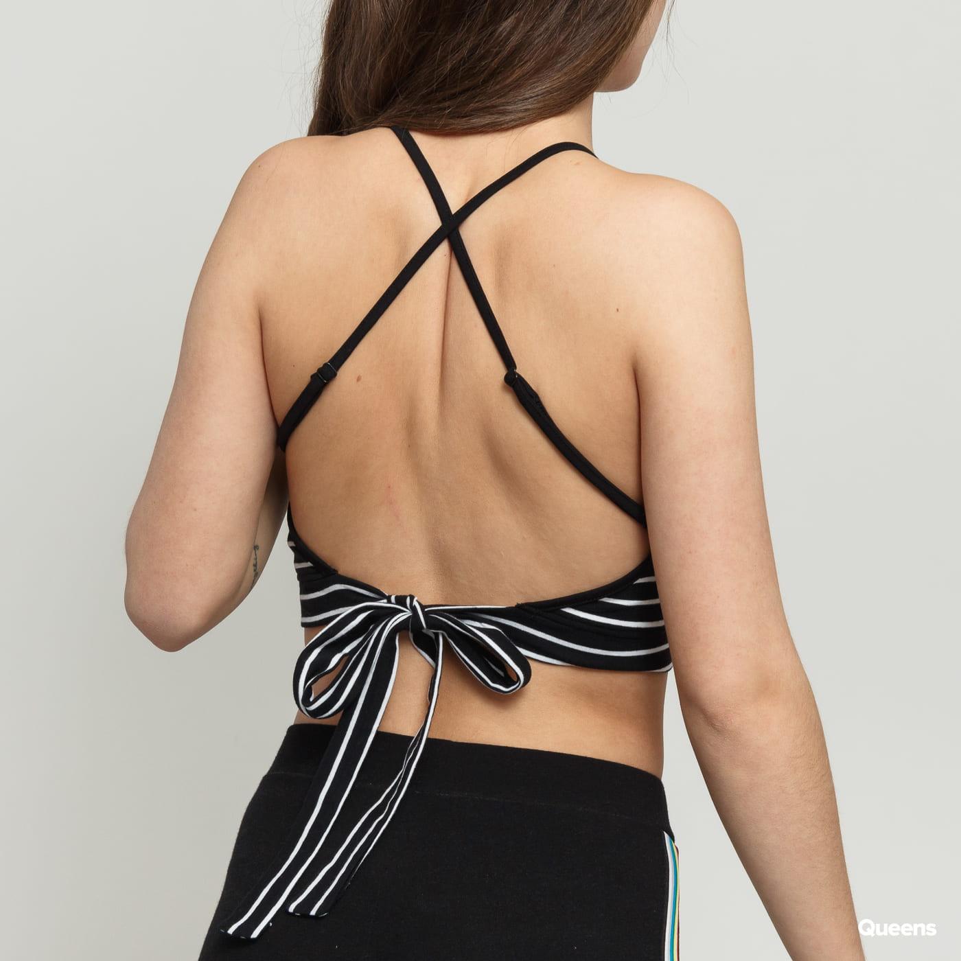 Urban Classics Ladies Triangle Top black / white