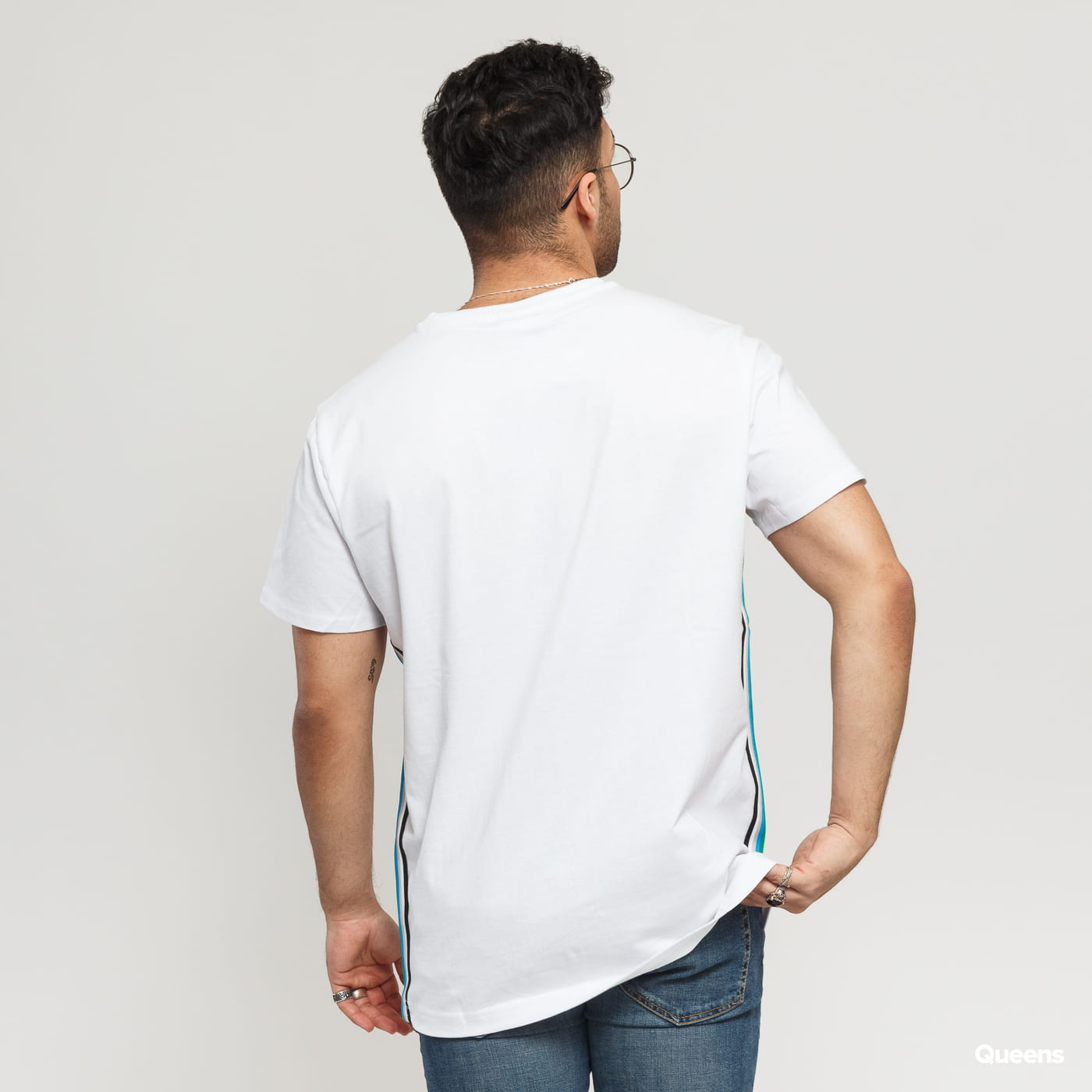 Urban Classics Side Taped Tee white