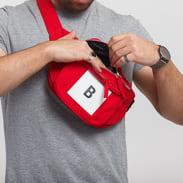BAND OF OUTSIDERS B Logo Print Bumbag červená