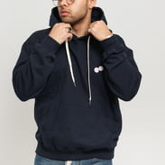 BAND OF OUTSIDERS Dices Embroidered Hoodie navy