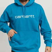 Carhartt WIP Hooded Carhartt Sweat modrá