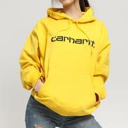 Carhartt WIP W Hooded Carhartt Sweat žlutá
