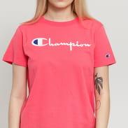 Champion Crewneck Tee růžové