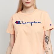 Champion Crewneck Tee světle oranžové