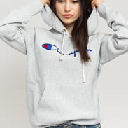 Champion Hooded Sweatshirt melange šedá