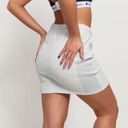 Champion Reverse Weave Skirt melange šedá