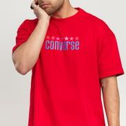 Converse CONVERSE X ASAP NAST Vintage Worldmark Tee červené