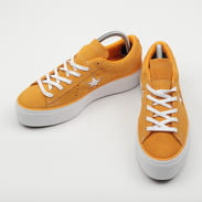 Converse One Star Platform OX field orange / white / white