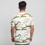 FRED PERRY Camouflage T-Shirt cream / green / brown