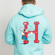 HUF Popeye Classic H Hoodie světle modrá