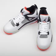 Jordan Air Jordan 4 Retro (GS) white / black - bright crimson