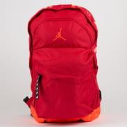 Jordan Air Patrol Backpack červený / neon oranžový