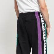 Kappa Authentic Balic černé / fialové / zelené