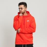 Nike M NSW Club Hoodie PO BB oranžová