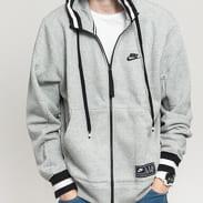 Nike M NSW Nike Air Hoodie FZ Fleece melange šedá