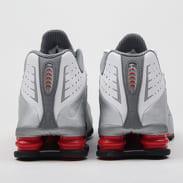 Nike Shox R4 white / metallic silver