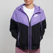 Nike W NSW Windrunner Jacket černá / fialová