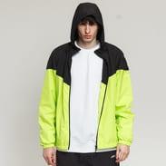 Urban Classics 2-Tone Tech Windrunner yellow and green / black