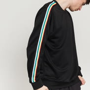 Urban Classics Sleeve Taped Crewneck čierna / multicolor