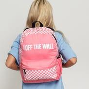 Vans WM Central Realm Backpack růžový / bílý